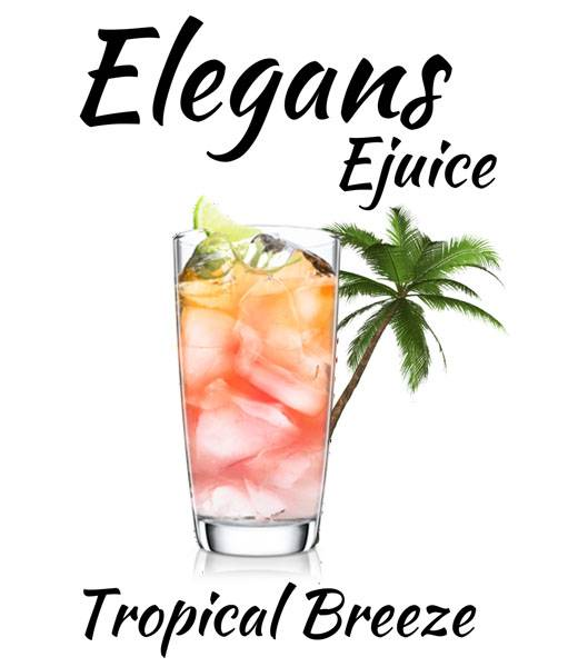 Bilde av Elegans - Tropical Breeze, Ejuice 50/60 ml