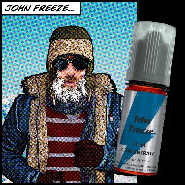 Bilde av T-Juice - John Freeze, Konsentrat 30 ml
