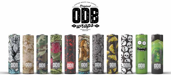Bilde av ODB - Wraps for 21700 Batteri (4pk)