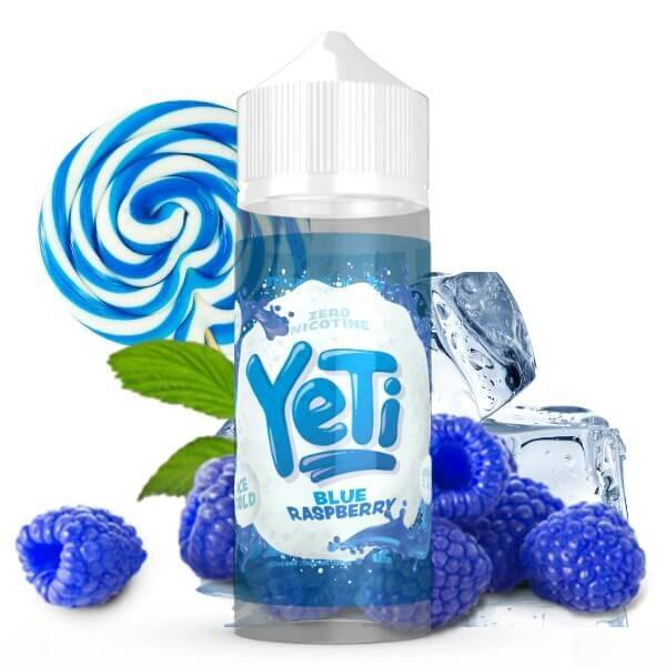 Bilde av Yeti - Ice Cold Blue Raspberry , Ejuice 100/120