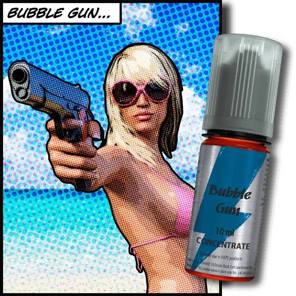 Bilde av T-Juice - Bubble Gun, Konsentrat 30 ml